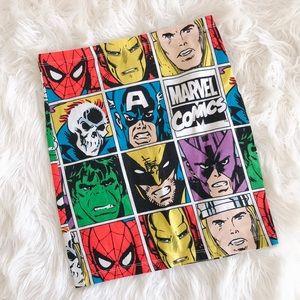 Marvel 🦩 Comics Spandex Skirt Size Small